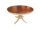 ELISABETH Tisch - Holz: Weiß/Braun